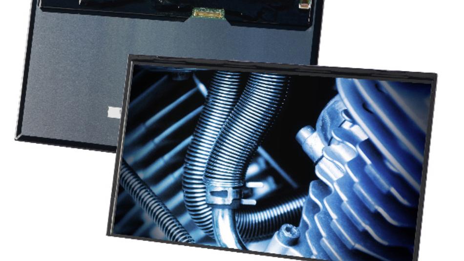 Beim 10-Zöller VVX10F087J00 ist der HID-kompatible USB-Touch-Controller auf dem Flachbandkabel integriert.