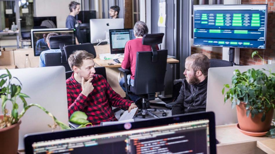 Im Digital Lab in Berlin arbeiten derzeit rund 70 IT-Mitarbeiter.