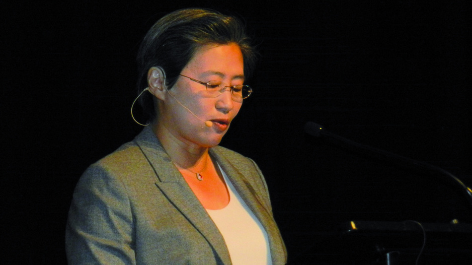 Platz 8: Lisa Su (AMD)
