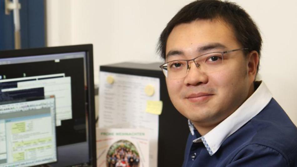 Doktorand Qi Wang, Erstautor der aktuellen Studie