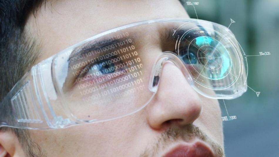 AR-Brillen sind ein mögliches Anwendungsfeld für µLED-Displays.