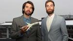 Die Flugilo-Gründer Alexander Kasinec und Andrew Moakes.