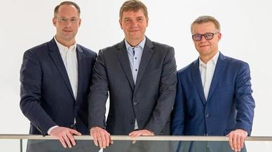 Christian Wolf, Thomas Schumacher und Oliver Merget