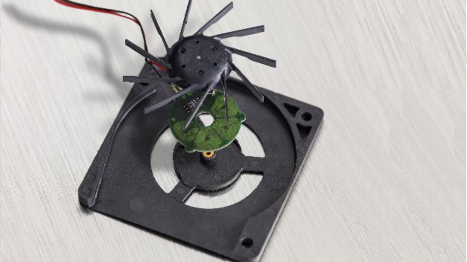 Kleine Lüftertreiber-ICs von Melexis für Anwendungen im Fahrzeuginnenraum.