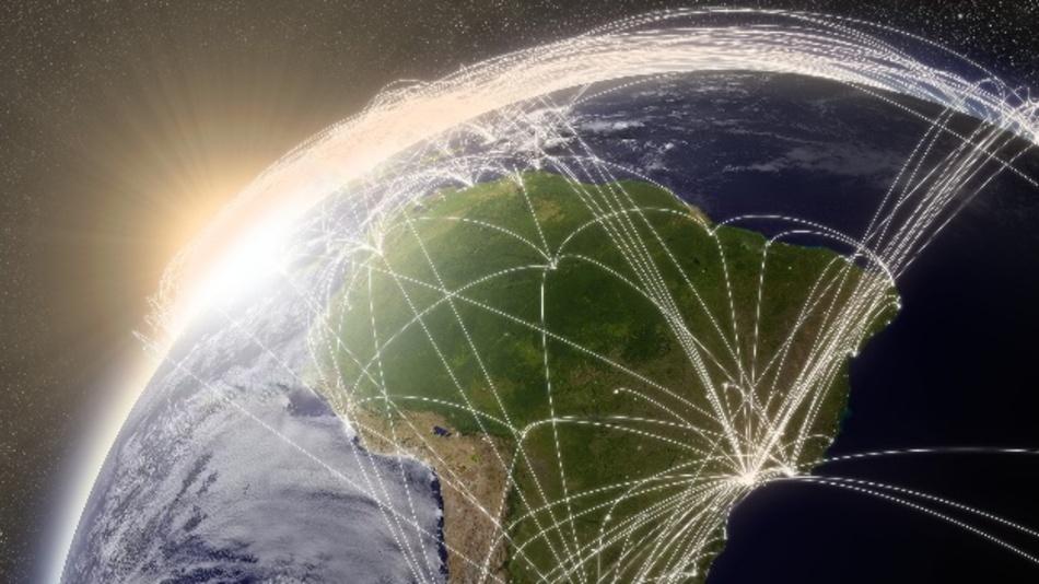 Die Sigfox-Netzabdeckung ist für mehr als 80% der lateinamerikanischen Bevölkerung im Aufbau.