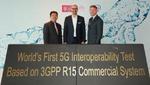 Erste 5G-NR-Interoperabilität erfolgreich getestet