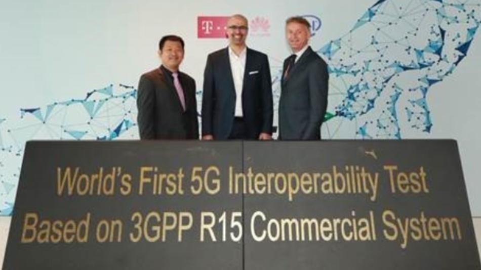 Erfolgreiche Zusammenarbeit von Deutsche Telekom, Intel und Huawei.