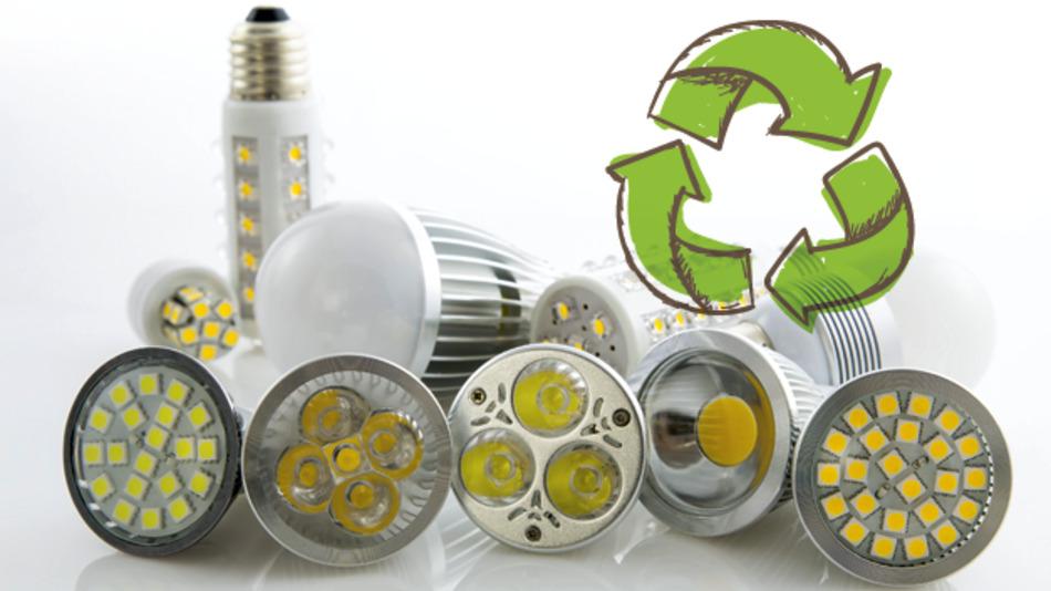 Recyclingverfahren für LED-Lampen: Seltene Erden rückgewinnen ...
