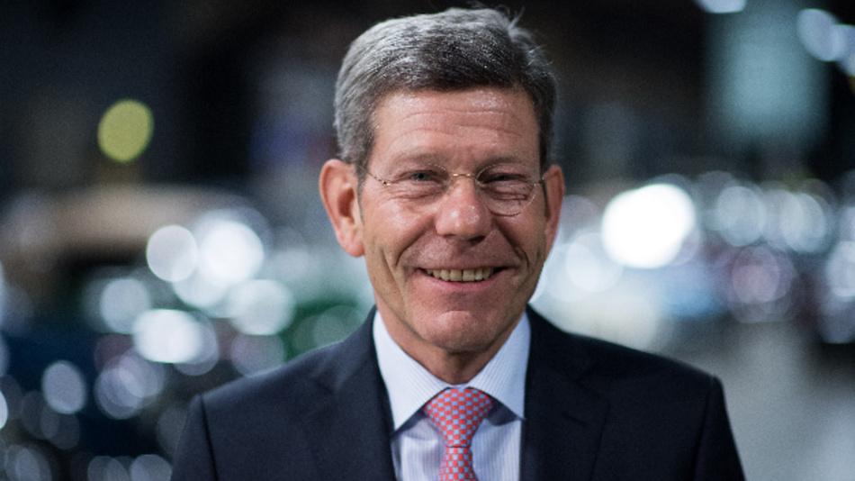 Der designierte VDA-Präsident Bernhard Mattes beim Neujahrsempfang des Verbandes der Automobilindustrie (VDA).