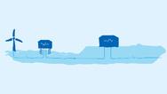 Darum geht es: Die Anbindung von Off-Shore-Windparks und die Übertragung der Energie über neue HGÜ-Trassen an Land, die jetzt neu in die Karte des deutschen Höchstspannungsnetzes aufgenommen wurden.