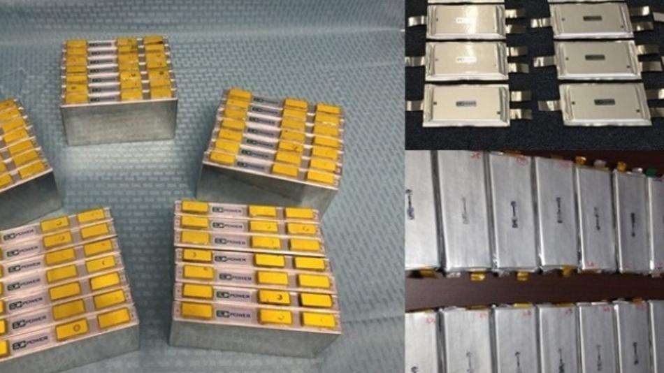 EC Power produziert unterschiedliche »Prismen- und Pouch-Zellen« mit Kapazitäten von 10 bis 20 Ah.