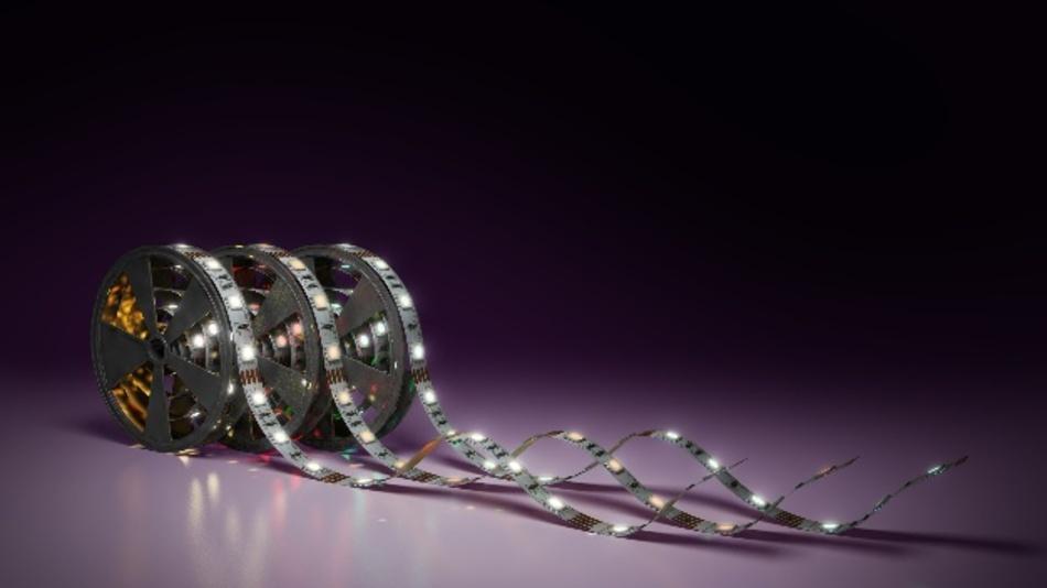 Gerollte LED-Bänder stellen die Inspektionssysteme vor ganz spezielle Herausforderungen.