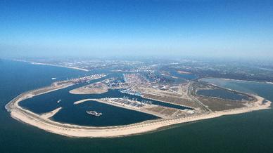 Aeroview Hafen Rotterdam