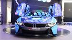 Neues Qualcomm BMW i8 Coupé Safety Car feiert Premiere