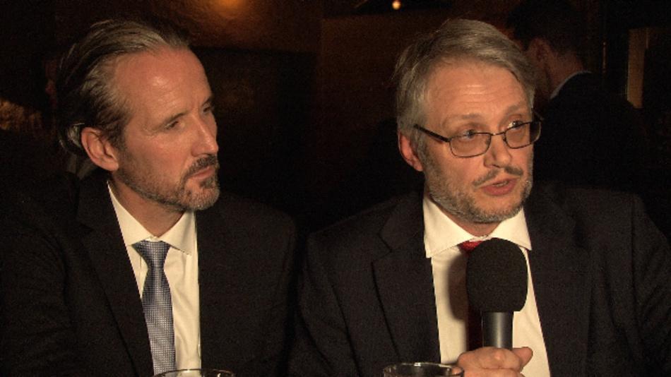 Uwe Frischknecht und Steve Roberts, Recom Electronic