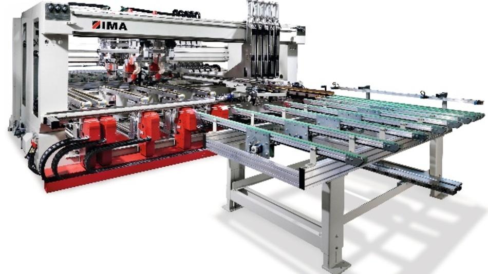 Bild 1. Bohrsysteme für die Holzbearbeitung von IMA stellen hohe Anforderungen an die Kabel in Schleppketten.