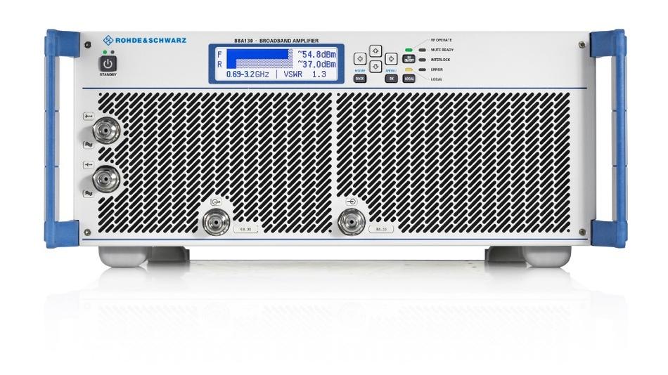 Verwenden Anwender einen Breitbandverstärker der R&S BBA130-Familie von Rohde & Schwarz, reicht ein Gerät für oft verschiedene Testszenarien.