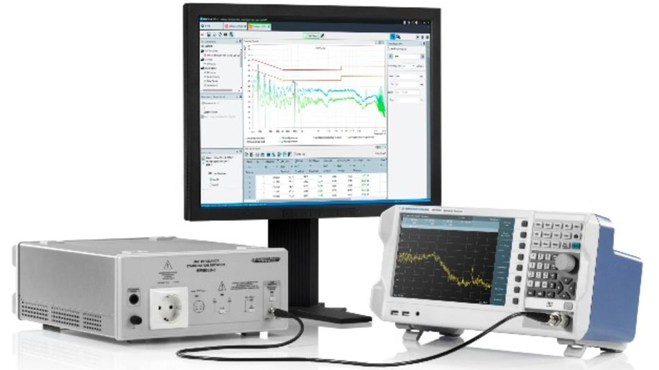 Rohde & Schwarz demonstriert auf der EMV 2018 verschiedene Systeme für EMV-Messungen.