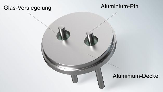 Mit Glas-Aluminium-Durchführungen (GTAS) hat Schott Electronic Packaging  eine Lösung entwickelt, um das Austrocknen von Elektrolytkondensatoren zu verhindern.