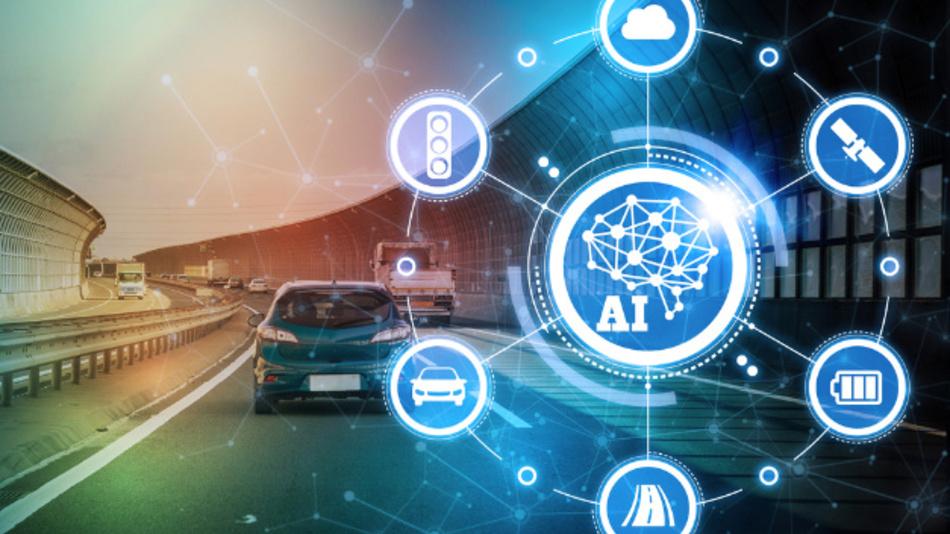 KI kann beispielsweise die optimale Route auf Basis von zahlreichen Informationen finden und auch zur Verkehrssicherheit beitragen.