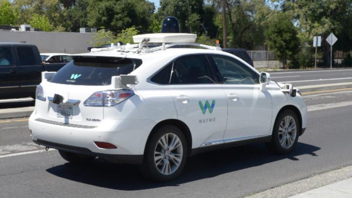 Selbstfahrendes Auto von Waymo
