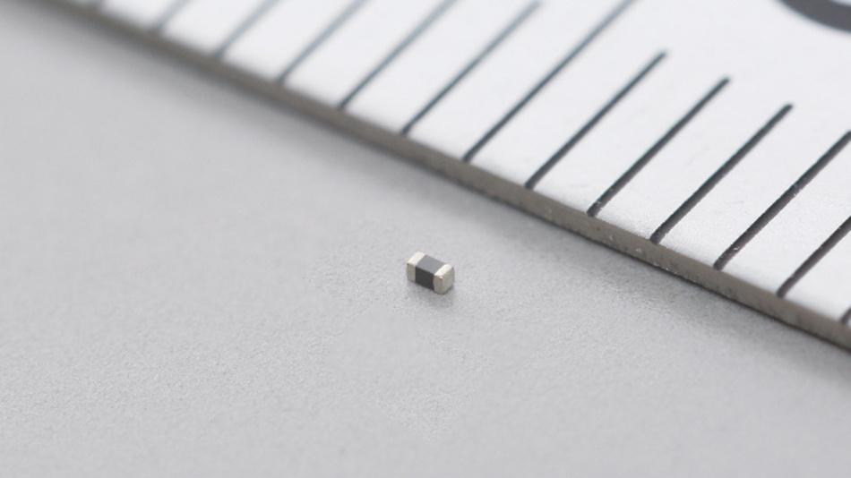 HF-Filter in der Baugröße 0201 für Audioleitungen