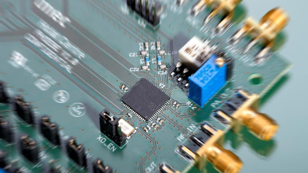 Bluetooth 5/BLE-Transceiver mit einer Leistungsaufnahme von nur 2,3 mW.