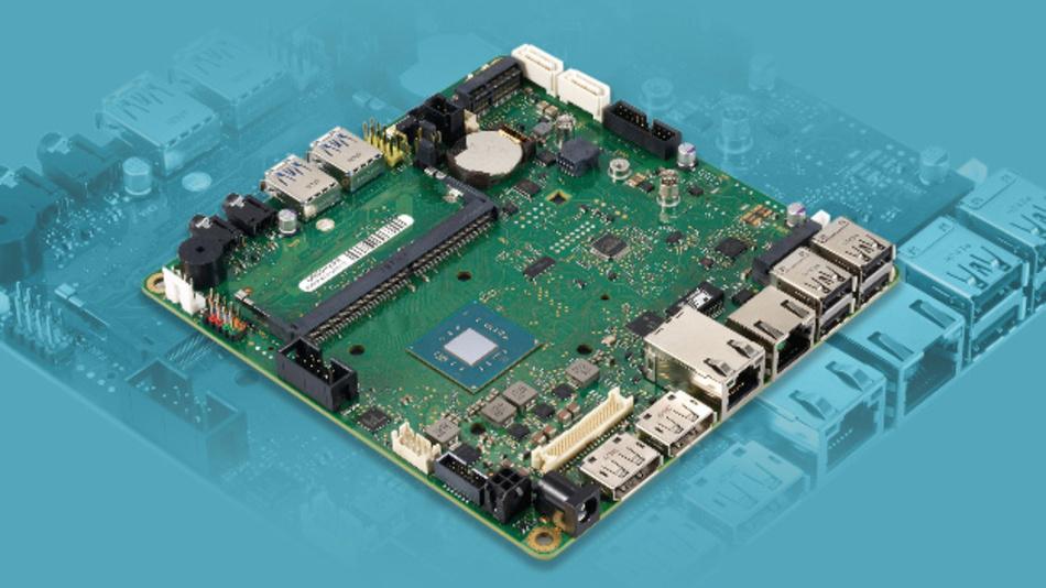 Das industrielle Mainboard D3544-S verfügt über zahlreiche Schnittstellen wie USB 2.0 und 3.1