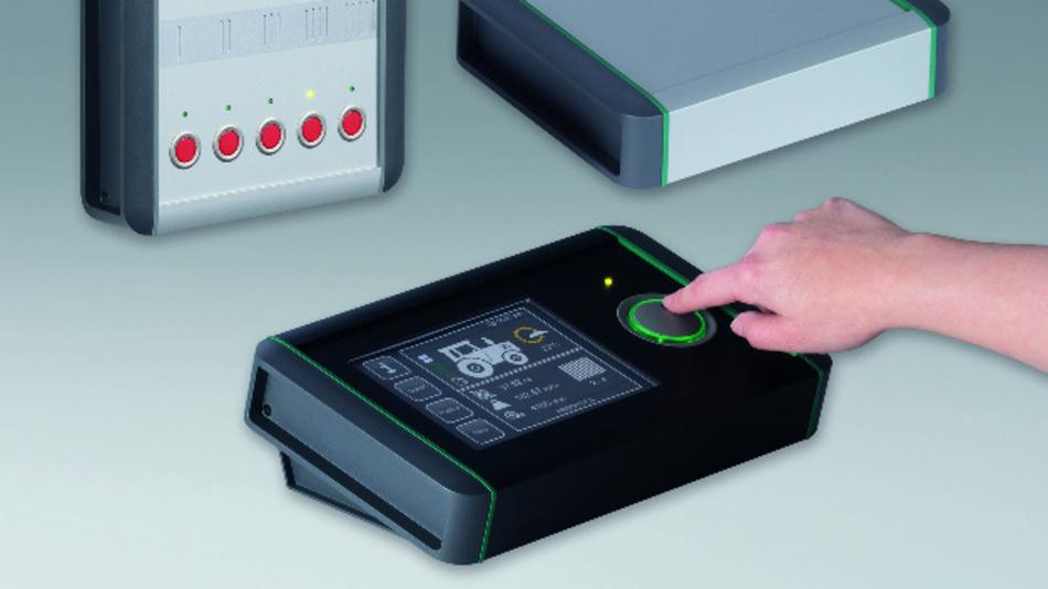 Ausgelegt sind die Gehäuse-Varianten von OKW für Display- und Touch-Lösungen von 4,3 bis maximal 8 Zoll.