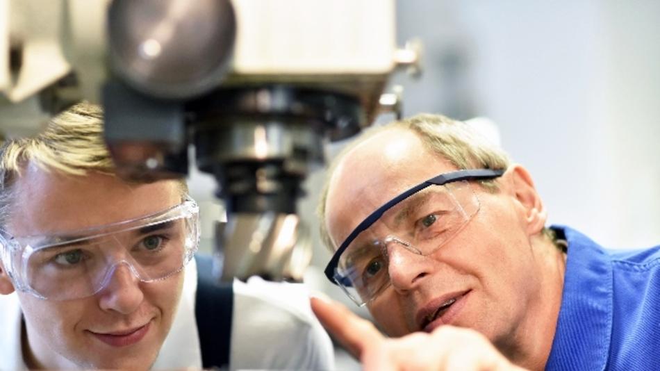 Industrie 4.0 zieht in die Ausbildung an den Schulen ein.