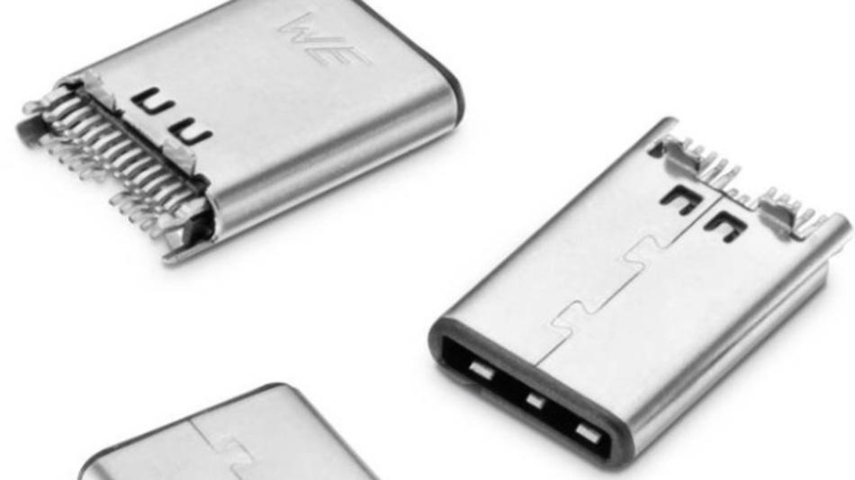 Durch 24 Pins ist der WR-COM USB 3.1 Type C beidseitig steckbar und unterstützt Power Delivery.