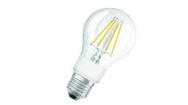 Das neue Parathom-LED-Retrofit-Classic-Portfolio von Ledvance gibt es im Handel in Vollglas, als dimmbare Versionen, sowie in klarer oder matter Ausführung. Sie können vergleichbare ineffiziente Halogen-Haushaltslampen mit ungebündeltem Licht direkt