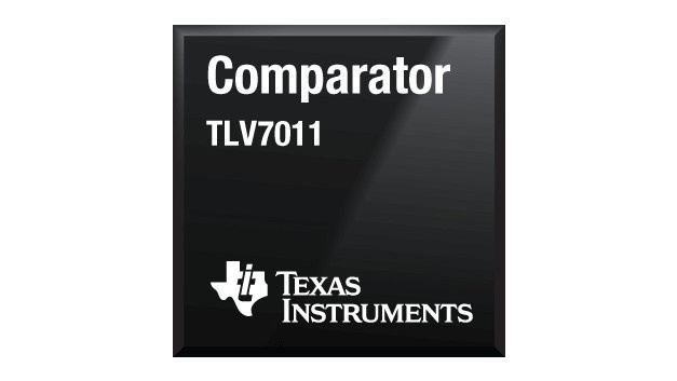 Die Komparatoren TLV9011 und TLV7021 von TI sind auch in einem winzigen X2SON-Gehäuse mit 0,64 mm2 Grundfläche erhältlich.