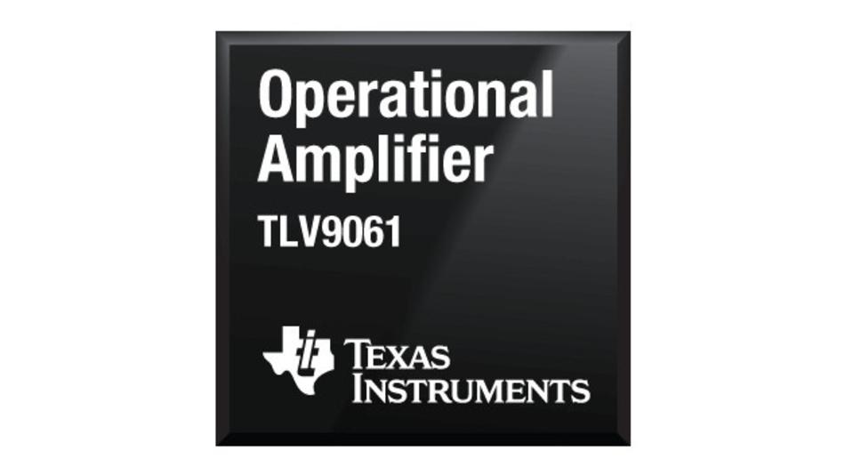 Der Operationsverstärker TLV9061 von TI ist auch in einem winzigen X2SON-Gehäuse mit 0,64 mm2 Grundfläche erhältlich.