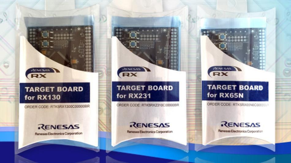 Mikrocontollermodule zu niedrigen Kosten bietet Renesas für seine RX-Mikrocontorller