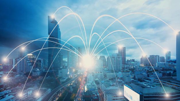 Low-Power Wide Area Netzwerk für M2M-Funkkommunikation.