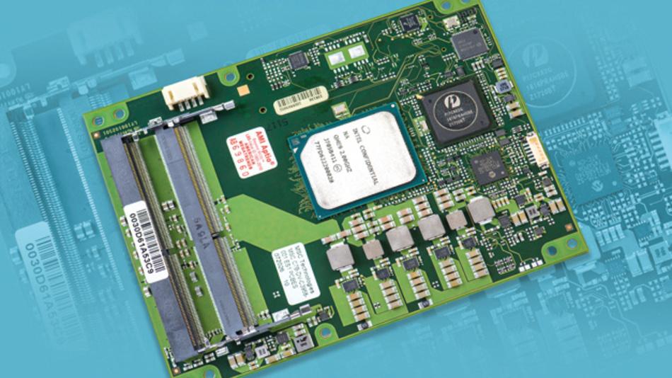 Die COM-Express-Type-7-Modulfamilie C7B-DV von MSC bietet fünf Ethernet-Schnittstellen,  davon vier mit 10Gbit/s Transferrate, und bis zu 22PCIe-Lanes.