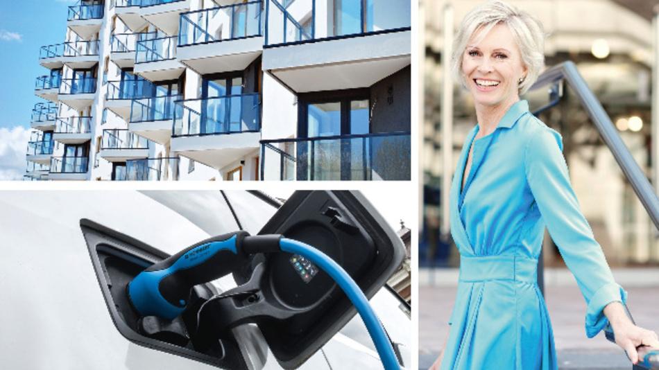 Eine moderne Ausstattung macht eine Immobilie begehrlich. Dazu zählt mittlerweile auch die Bereitstellung von Lademöglichkeiten für E-Fahrzeuge.