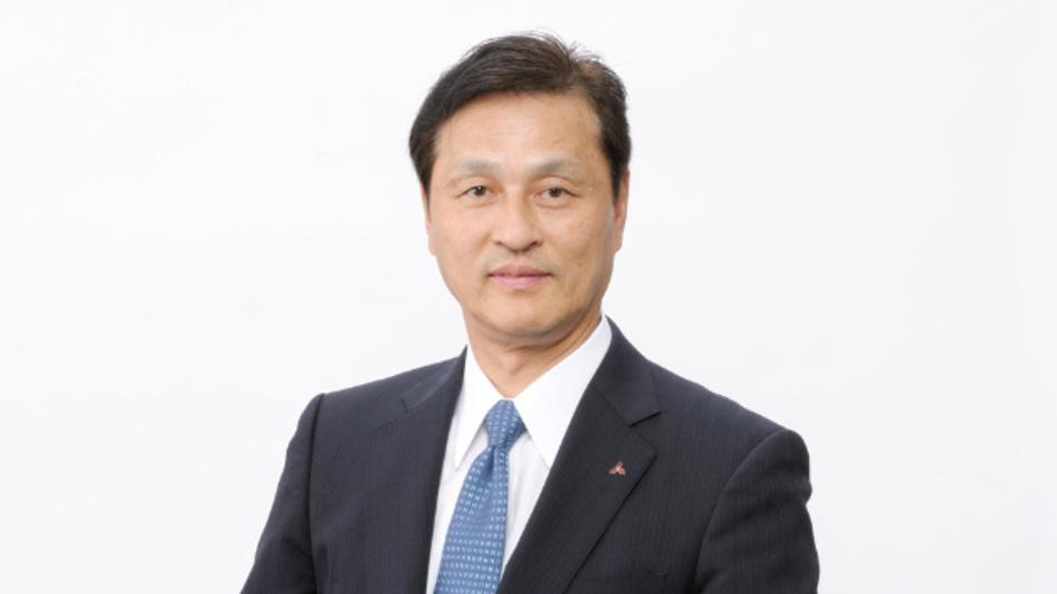 Takeshi Sugiyama wird zum 1. April 2018 President und CEO von Mitsubishi Electric.