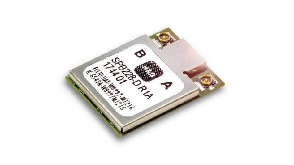 Wi-Fi/Bluetooth-Kombimodul SPB228 von H&D Wireless