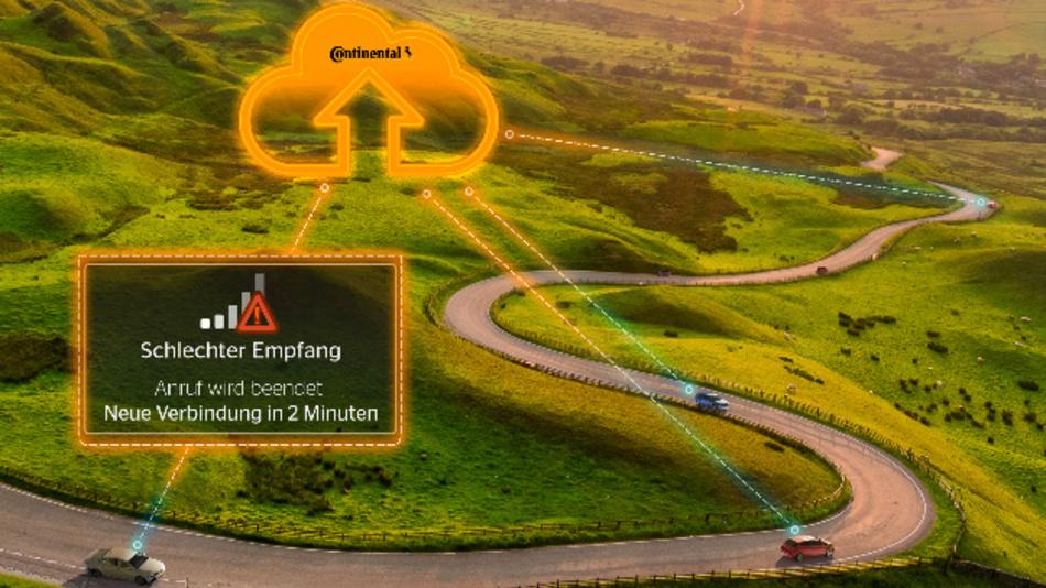 Vorausschauende Vernetzung durch das Daten- und Kanalmanagement von Continental.