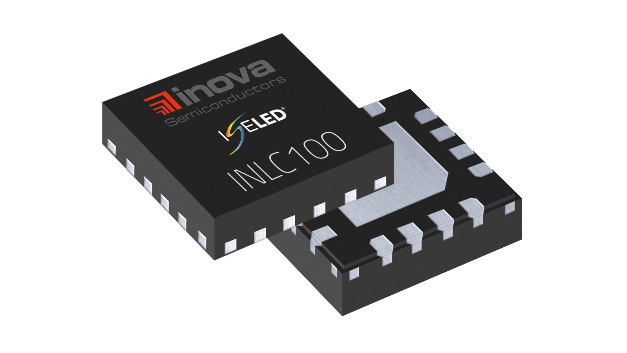 Der INLC100Q16 von Inova Semiconductor ist jetzt der erste eigenständige Treiber, mit dem Hersteller selbst zusammengestellte externe LED-Lichtsysteme entwickeln können.