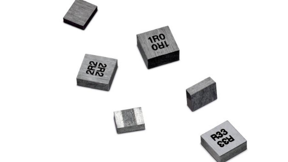 WE-MAPI, eine der kleinsten gewickelten Metal-Alloy-Speicherinduktivitäten der Welt.