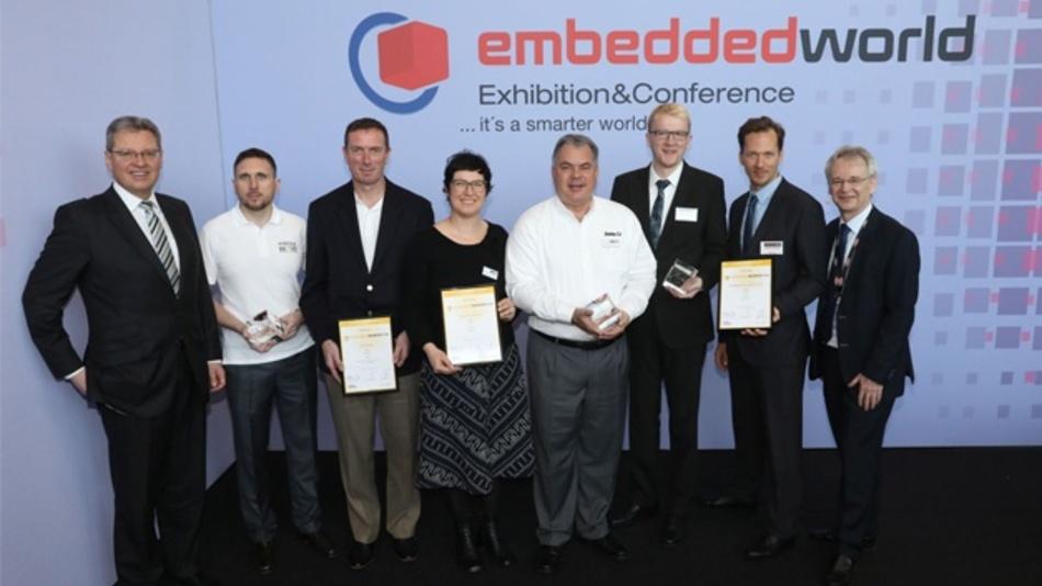 Die Preisträger des Embedded Awards 2018