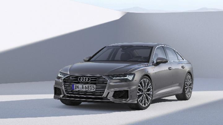 Audi A6 2018 in der Vorderansicht