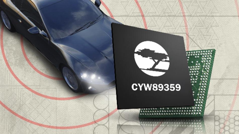 Der CYW89359-Combo-Baustein von Cypress.