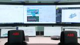 Das ABB Ability Collaborative Operations Center von ABB für Kraftwerke und die Wasserversorgung in Genua.