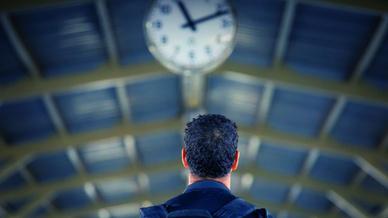 Warten Uhr