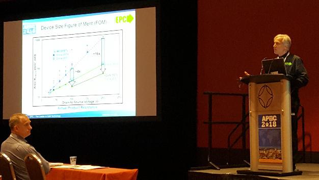 Auf der APEC präsentierte EPC ein Seminar zum Thema »Maximieren der Performance von GaN-FETs und -ICs«.