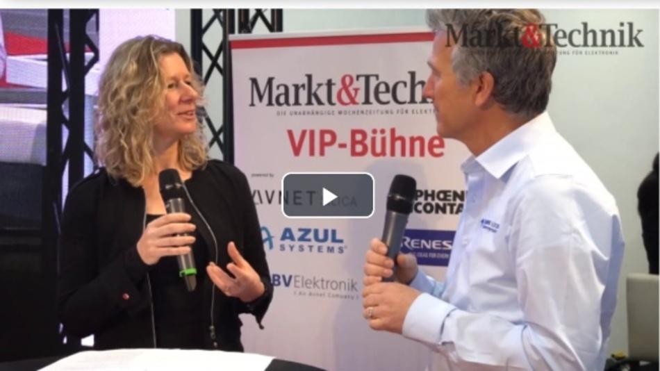 Albert Hanselmann, Teledyne LeCroy, im Gespräch mit Nicole Wörner, Markt&Technik